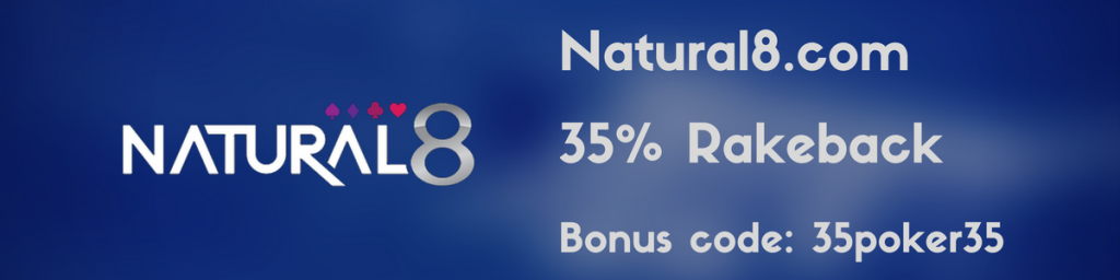 Natural8 Rakeback VIP Deal