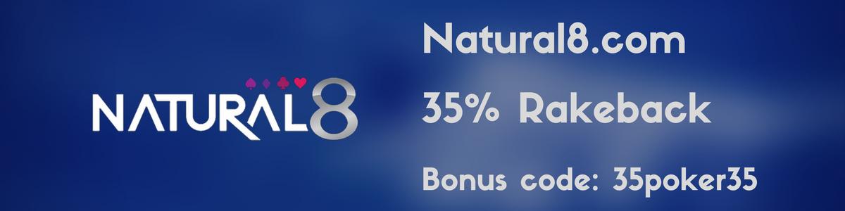 Natural8 Rakeback VIP Deal